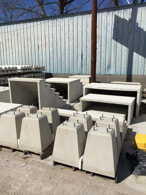 Sign Bases Totowa Concrete Products